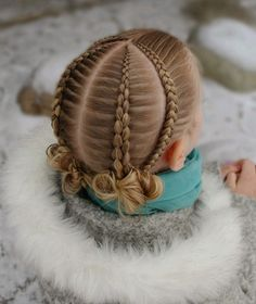 Braided Hair Styles 2020 Great Ideas For Braided Hair Ideas Braided Hair Styles 2020 Great Ideas For Girls Hairdos, Dance Hairstyles, Cute Girls Hairstyles, Girl Haircuts, Braided Hairstyles, School Hairstyles, Updo Hairstyle, Braided Updo, Wedding Hairstyles