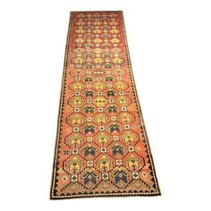 "Image of Vintage Turkish Oushak Runner - 2'8""x8'9"""