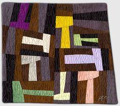 quilting by Sandra Palmer Ciolino. Quilt by Virginia Keiser.