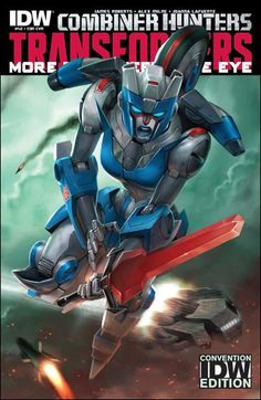 Transformers: More Than Meets the Eye (2012) #42 Sara Pitre-Durocher SDCC 2015 Cover