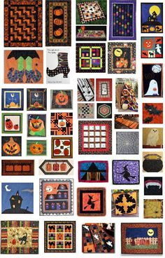 50 free patterns for Halloween