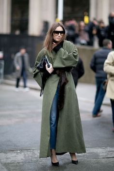 sage green duster!