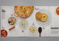 THEARTISTANDHISMODEL » The Soup Spoon Brochure by Couple
