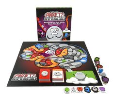 Stressing Out Has Never Been This Fun! AnxietyATTACK is a hilariously intense board game where players must send their opponents into an ANXIETY SPIRAL using TRIGGER cards, and move closer to safety with DEFUSE cards. When opponents are sent to the ANXIETY SPIRAL, they switch to their MISERY form, and begin going afte