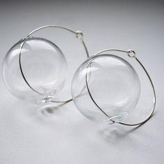 https://flic.kr/p/qNXGDs | Желаю всем воздушности и легкости!!!! Wish airiness and lightness, like me))))☺☺☺☺ #lampwork #bead #blow #earrings