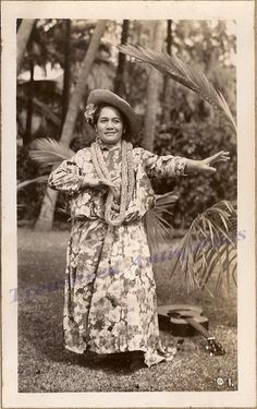 1930s Hawaii Native Hawaiian