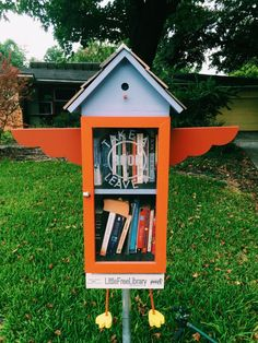 zero waste reading - find a little free library near you: https://littlefreelibrary.org/ourmap/