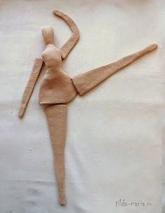 Mais um tutorial de tilda, agora da linda tilda bailarina. ...
