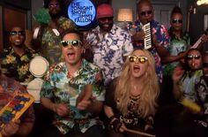Jimmy Fallon und Madonna sorgen für Urlaubslaune