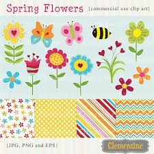 clipart bees and flowers - Google Search