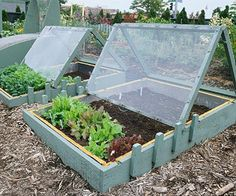Awesome cold frame.  I may have borrow this idea.