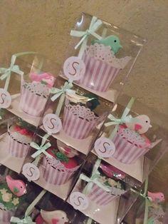 Little Birds Cupcakes Souvenirs  Violeta Glace