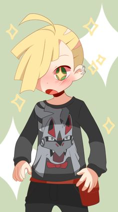 Aww! Too cute! Gladion is the best.