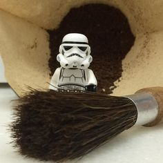 "If are serious about the  force of your #rebelbeans ""A #coffee grinder brush you must have. Hummmm""  Ops! Sorry just have spent some time in #dagobah  #thecoffeetrooper  #coffeeexperience  #coffee"