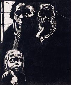 Käthe Kollwitz, Erwerbslos (Unemployed), 1925