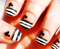 Mickey Mouse Manicure#Repin By:Pinterest++ for iPad#