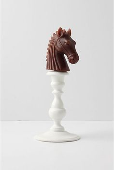 Anthropologie horse candle