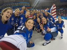 USA Women's Hockey team wins gold at Winter Olympics 2018
