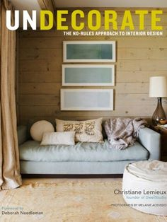 Coffee Table Book | Undecorate by Christiane Lemieux | House & Home/paleta  De color