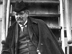 GK Chesterton; Natural-Born Blogger! ~ Malcolm Guite