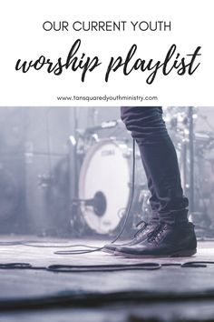 Earlier this year we started our Youth Worship Band. Here's what our worship playlist currently looks like. Tansquared Youth Ministry