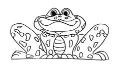 frog and toad coloring pages on computers | 28 beste afbeeldingen van * KIKKER: kleurplaten ...