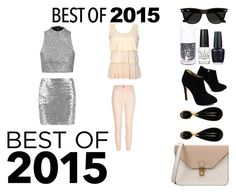 """#BEST OF 2015"" by laniqua-mosley ❤ liked on Polyvore featuring Giuseppe Zanotti, OPI, 8, Ray-Ban, River Island and Topshop"