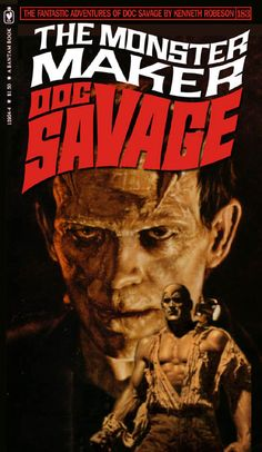 Doc Savage Fantasy Cover Gallery