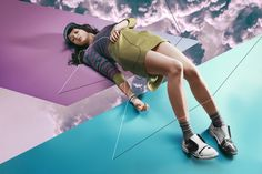 Flatland by Adele Cochrane, via Behance