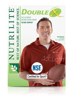 "Kurt Warner is confident that only the highest-quality ingredients are used in the NUTRILITE products he relies on for himself and his family.     NUTRILITE®, exclusively from Amway,   As the only global vitamin and mineral brand to grow, harvest, and process plants on their own certified organic farms, ""So, in that sense, it was really easy to see why I should partner with the NUTRILITE brand together in an effort to educate consumers on the benefits of proper nutrition."""