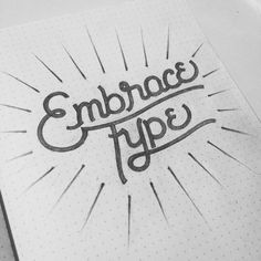 Embrace Type by Jan Cantor