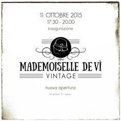 Support @MademDeVi #vintage #vigevano #inauguration #vernissage #openday #cocktailparty #MademoiselleDevì