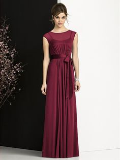 Love this for bridesmaids, maybe a silver or dark purple color! After Six Bridesmaids Style 6676