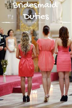tips on how to be a good bridesmaid