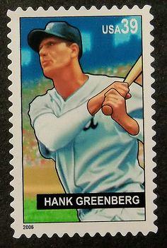#Baseball #HankGreenberg #PassionGiftStampArt #Art