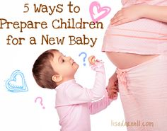 Preparing your child for a new #baby can be a daunting task - embrace the challenge with these helpful tips!