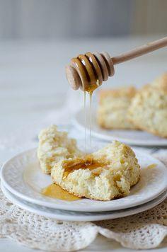 Half recipe made six generous biscuits -- like sunrise! -- kids loved them