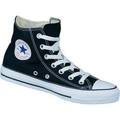 Klassische Converse Chuck Taylor All Star High schwarz.
