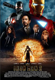 Iron Man 2 Robert Downey Jr., Mickey Rourke, Sam Rockwell
