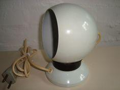 E. S. HORN lamp/magnetlampe - 1960-70s. #trendyenser #lamps #lampe #eshorn #danishdesign #danskdesign #retro #vintage #70s. From www.TRENDYenser.com. SOLGT.