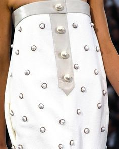 The Terrier and Lobster: Chanel Spring 2013 Giant Pearls