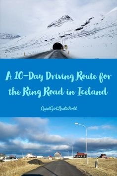 Planning a road trip around the Ring Road in Iceland? I lay out a fun and adventurous itinerary that will put you on a great route to see the best of Iceland. Iceland Travel Tips, Europe Travel Tips, Travel Destinations, Quiet Girl, Thingvellir National Park, Ways To Travel, Culture Travel, Travel Inspiration, Tours