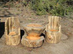 Log Chairs - Sweet Logs …