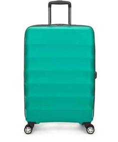 Buy Go Explore Large 4 Wheel Suitcase - Charcoal at Argos.co.uk ...