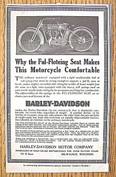 1913 Harley-Davidson with the Ful Floteing Seat