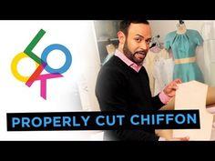 How To Properly Cut Chiffon: Nick's Tricks with Nick Verreos (+playlist)