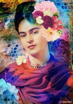 Frida in colors, that's absolutely her! http://www.breesha-perlen-und-edelsteine.de
