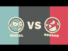 Social vs Search Smackdown: A Battle of Internet Marketing Titans [Video Infographic]