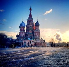 Saint Basil's Cathedral - Red Square - Moscow - Russia - zoltán kovács - Google+
