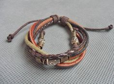 Hey, I found this really awesome Etsy listing at https://www.etsy.com/listing/93872869/adjustable-skull-bracelet-leather